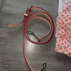 """Dooney and Bourke leather cross-body strap 30"""""""